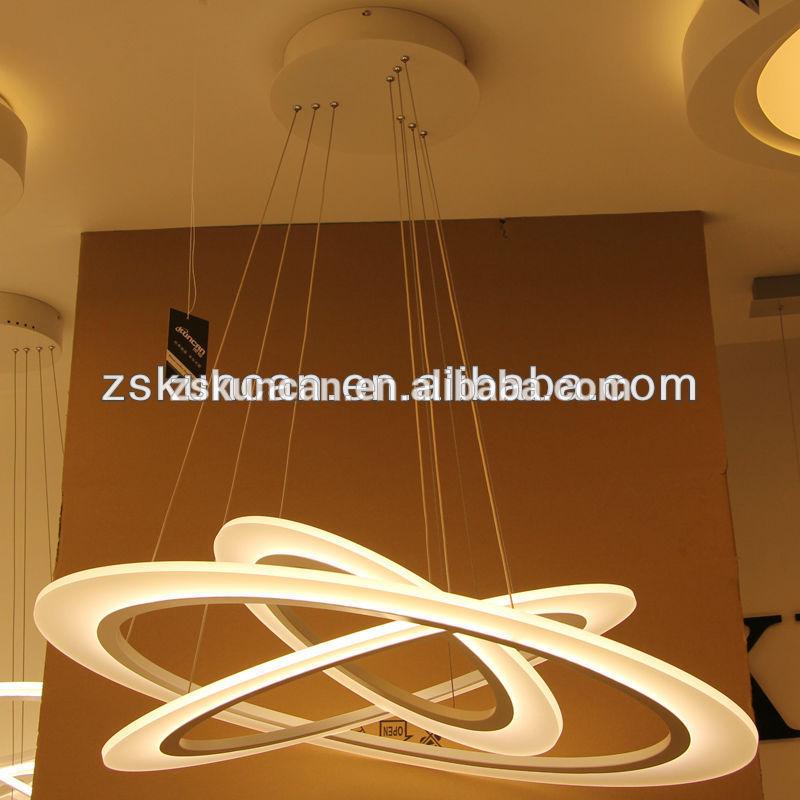 Moderno, 3- lampadario ring per soggiorno-Lampadari-Id ...