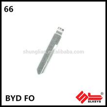 BYD FO High quality car blank key