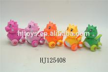new item plastic wind up carton dragon toys for kids gift 12pcs/box