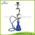 Colorful smoke shisha with best design E-A0026 dolphin hookah