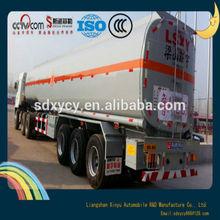 40 cbm cubic meter 3 axle diesel fuel oil tank semi trailer