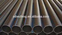 High Density Polyethylene large diameter Black HDPE100 pipe for water supply