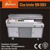 Since 1996 manufacturer OEM ODM boway 986V A3 A4 automatic hot glue perfect binding machine