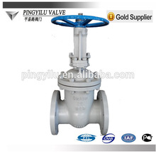 Russia standard cast steel rising stem manual flanged gate valve competitive than Wenzhou