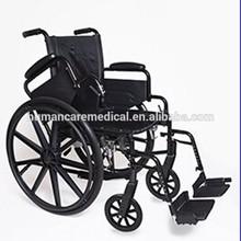 Half-folding wheelchair handicapped equipment wheelchair