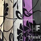 0.5mm 100% polyester flocking fake super soft velvet sofa fabric