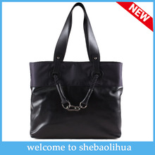 2014 Hot fashion understated luxury sheepskin leather shoulder bag lady hand stitching briefcase wholesale brand name bags