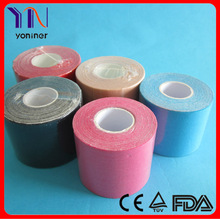 Kinesiology tape sports all colors manufacturer CE FDA certificated