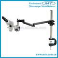 Mzs0745 7x-45x binocular zoom estéreo de fibra óptica del microscopio de medición