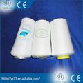 Baratos al por mayor de alta calidad de hilo poliéster 100% tela teñida