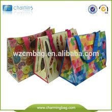 Cheap Customized Laminated PP Woven Shopping Bag