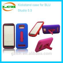 New Plastic Silicone Hybrid mobile phone case for BLU Studio 5.5 D610