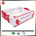 2014 frutas de embalaje cajas de cartón corrugado, caja de cartón corrugado para el embalaje de uva