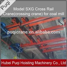 SXG Cross Rail Crane crossing crane for coal mill