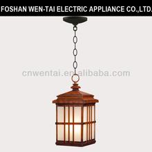 indoor decorative glass pendant lighting fixture
