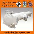 pig launcher e receptor para o lançamento de suínos em óleo