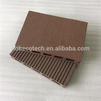 outdoor engineered flooring type wpc ,decorative wood plastic composite