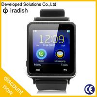 """Wristwatch Cell Phone 1.54"""" Touch Screen Cheap Smart Watch Bluetooth Phone"""