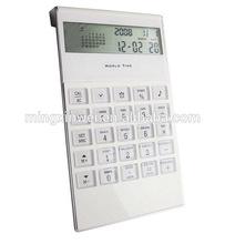 12 Digits Digital Calendar Calculator for Promotion