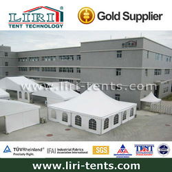 8x8m outdoor large Chinese aluminum frame pagoda camping tents for sale