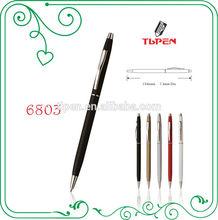 slim metal twist ballpoint pen
