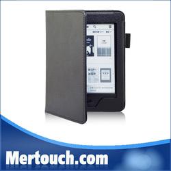 colorful PC hard leather kindle7 ebook cover case for kindle7 touch ebook cover case