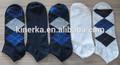 la costumbre baratos reciclar los hombres del algodón calcetines de tobillo