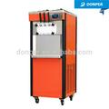 Donper torcedura dobles medio capacidad de helado suave de la máquina D525