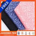 diseño personalizado de jacquard de poliéster de algodón tela de mezcla