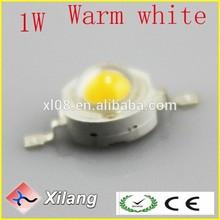 1w LED Lamp 3000-3200k highlight 100LM warm white LED