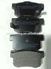 Brake lining for Honda/Acura/Accord/Prelude/S2000/legend/Vigor