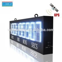 Digital sports super bright outdoor led countdown clock