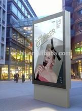 Light box Outdoor Advertising aluminum frame