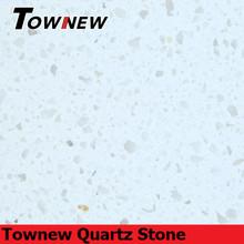Classic white single color home essential products,non-radiative quartz slab