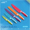 5 pcs Colorful Kitchen knives Set