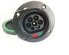 IEC62196-2 ac 250v ev connector/IEC62196-2 male iec socket & iec62196-2 outlets