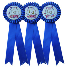 Dog Race Award Ribbon Rosette For Pet Show