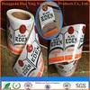 label sticker custom self adhesive label & paper roll sticker & manufacture paper sticker label for bottle label