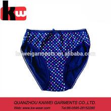 Plus Size Floral Print Underwear 100 Cotton Panties