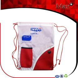2015 New Fasion Promotional Drawstring Mesh Bag Eco-friendly Customized Durable Wholesale Cotton Drawstring Bag