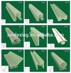 Plastic shower door seal strip/glass shower door plastic seal strip/shower door water strip