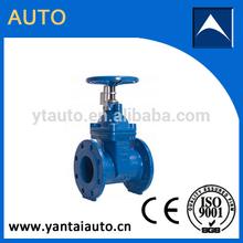 cheap BS5163 soft seal cast iron rising stem gate valve
