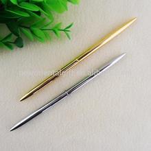 Gold Or Silver Plating Rotation Type Metal Ballpoint Pen