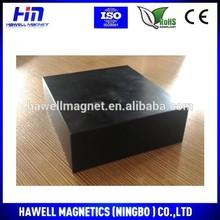 permanent neodymium magnet block shape,epoxy coating, wind turbine magnet