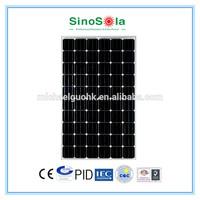 260W Monocrystalline Solar Panel PV Module With TUV/CE/CEC/IEC/CQC/PID/ISO Certificates