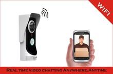 2MP 160degree camera,Real time video talking,waterproof,wifi video door phone