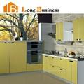 Lb-jx1049 modern lake sarı mutfak dolabı