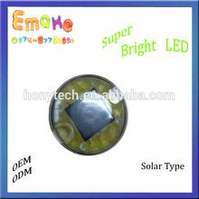 Super Brightness LED reflective Solar road stud 6LEDS