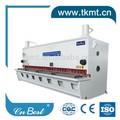 alta qualidade de alumínio máquina de corte de folha de corte de metal de folha de metal da máquina