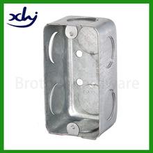 customized metal electrical metal back box